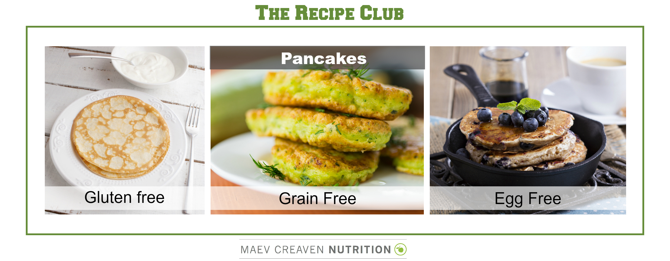 The Recipe Club Pancakes